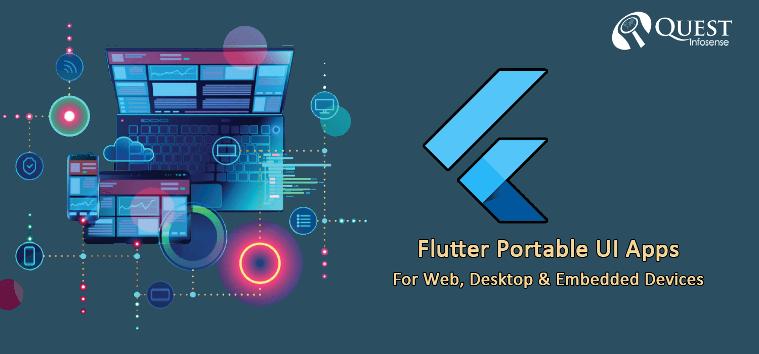 Flutter Portable UI Framework supports Web, Desktop & Embedded Devices