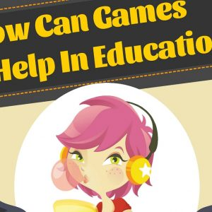 How can video games help in education industry