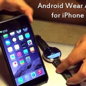 Now iPhone can pair with Android Wear watches