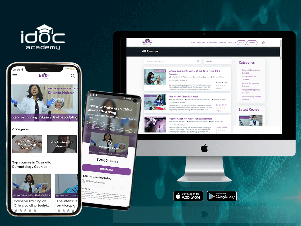 idoc Acedomy eLearning Mobile App by Quest Infosense