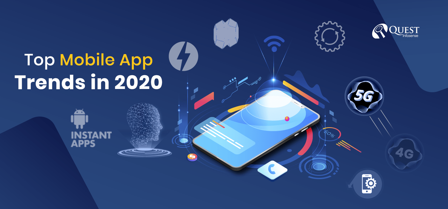 Top Technology Trends 2020.Top Mobile App Technology Trends In 2020 Quest Infosense